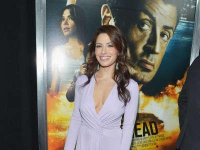 Sarah Shahi Bullet To The Head Movie Premiere