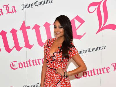 Shay Mitchell Couture La La Perfume Launch In Los Angeles