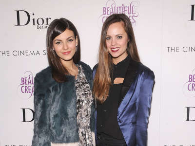Victoria Justice Beautiful Creatures Screening In New York