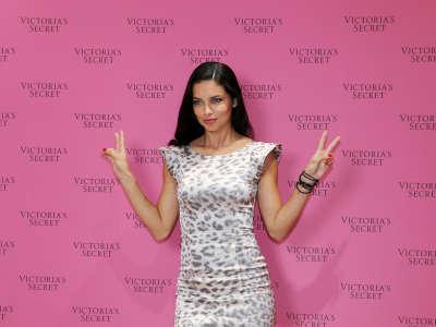 Adriana Lima Victorias Secret Fantasy Bra Launch In Dubai