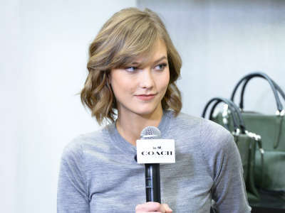 Karlie Kloss Coach 79 Fifth Avenue Store Re Opening In New York