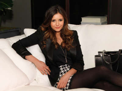 Nina Dobrev Restoration Hardware Opening In Atlanta