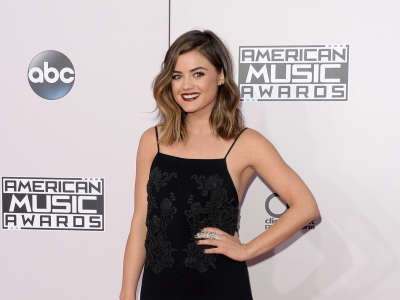 Lucy Hale4 American Music Awards In Los Angeles