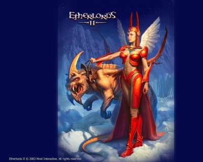 Etherlords2 Wallpaper Girl 1280 Uk